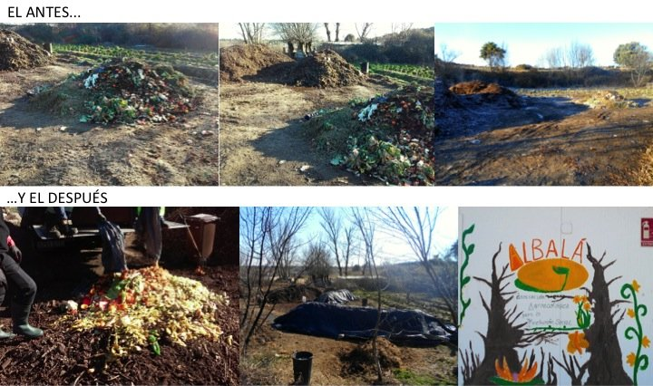 compost antes